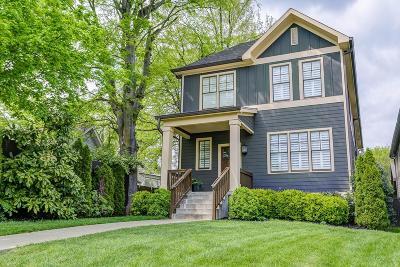 Nashville Single Family Home For Sale: 2908 W Linden Ave