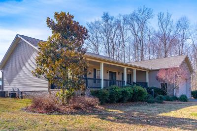 Cookeville Single Family Home Under Contract - Showing: 2141 Cunningham Rd