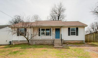 Nashville Single Family Home For Sale: 804 Nashua Ct