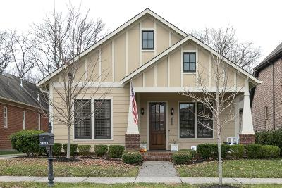 Thompsons Station Single Family Home Under Contract - Not Showing: 3609 Wareham Dr