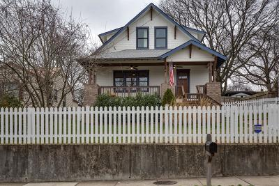 Nashville Single Family Home For Sale: 522 S 14th St