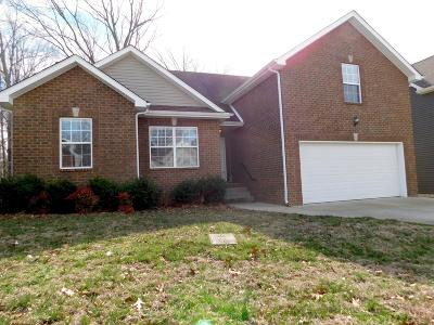 Clarksville TN Single Family Home For Sale: $210,000
