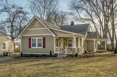 Nashville Single Family Home Under Contract - Showing: 223 Elberta St