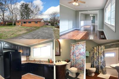 Clarksville TN Single Family Home For Sale: $136,900
