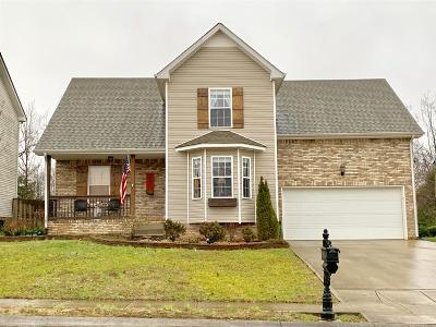 Clarksville Single Family Home For Sale: 2657 Cider Dr