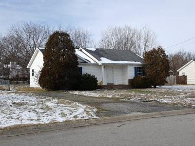 Clarksville Single Family Home Under Contract - Not Showing: 578 Matthew Ct