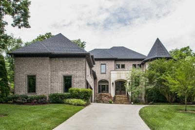 Nashville Single Family Home For Sale: 4017 Wallace Lane