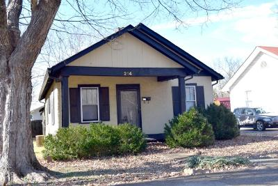 Rutherford County Single Family Home Under Contract - Not Showing: 214 Kerr Ave