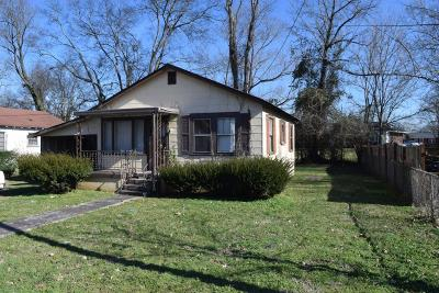Murfreesboro Single Family Home Under Contract - Not Showing: 515 Mason Ct