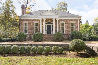 Belle Meade Single Family Home Under Contract - Showing: 4421 Warner Pl