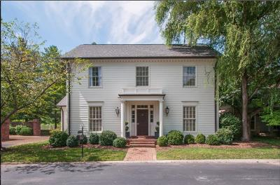 Nashville Single Family Home Under Contract - Showing: 83 Concord Park W