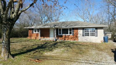 Hohenwald Single Family Home For Sale: 485 Summertown Hwy