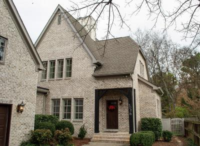 Nashville Single Family Home For Sale: 202 B Woodmont Cir