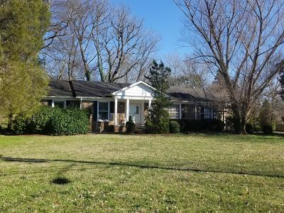 Brentwood Single Family Home Under Contract - Not Showing: 708 Wilson Pike