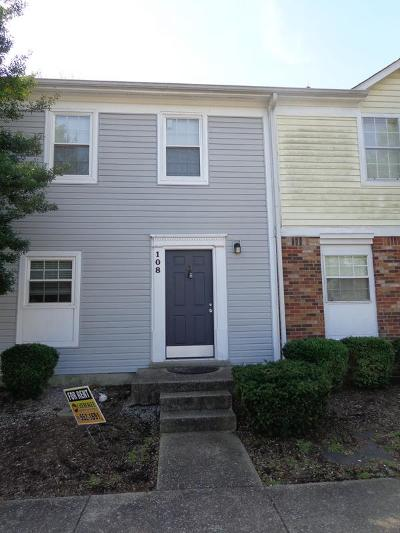 Clarksville Condo/Townhouse Under Contract - Not Showing: 108 Greenland Ct