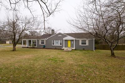 Madison Single Family Home For Sale: 601 W Old Hickory Blvd