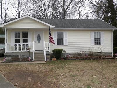 Clarksville Single Family Home Under Contract - Not Showing: 448 Reeves Dr