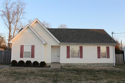 Smyrna Single Family Home Under Contract - Not Showing: 505 Country Village Dr