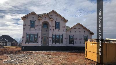 Clarksville Single Family Home For Sale: 15 Savannah Glen