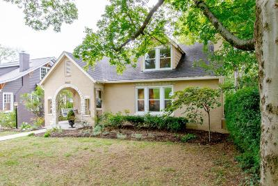 Nashville Single Family Home Under Contract - Showing: 2603 Essex Place