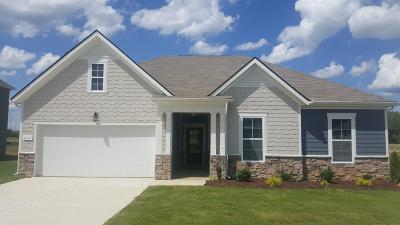 Lebanon Single Family Home Under Contract - Not Showing: 207 Princeton Drive Lot 45