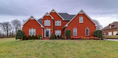 Clarksville Single Family Home Under Contract - Not Showing: 4860 Clear Springs Rd