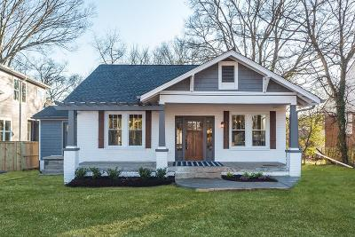East Nashville Single Family Home Under Contract - Showing: 1300 A Maxey Ln