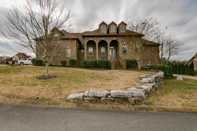 Mount Juliet Single Family Home Under Contract - Showing: 400 Thomas Lndg