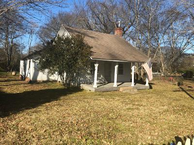 Franklin Single Family Home Active Under Contract: 4230 Old Hillsboro Rd