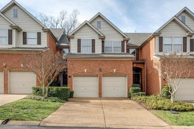 Brentwood Condo/Townhouse For Sale: 641 Old Hickory Blvd Unit 51