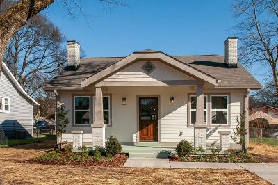 East Nashville Single Family Home For Sale: 1203 Stockell