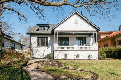 Nashville Single Family Home For Sale: 2602 Essex