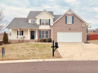 Clarksville Single Family Home Under Contract - Showing: 3051 Outfitters Dr