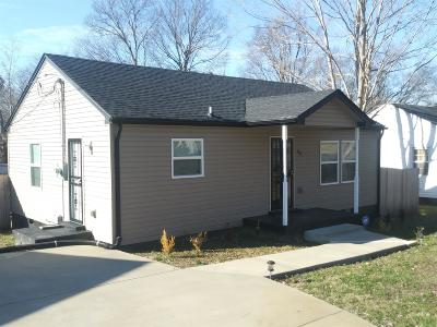Clarksville Single Family Home Under Contract - Showing: 906 W Happy Hollow Dr