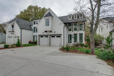 Green Hills Single Family Home Under Contract - Not Showing: 1922 A Castleman Dr