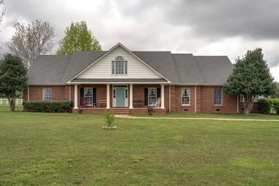 Lewisburg Single Family Home For Sale: 2920 W Hwy 64