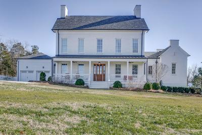 Franklin Single Family Home For Sale: 3620 Leipers Valley Trl