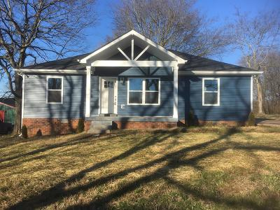 Gallatin Single Family Home Under Contract - Showing: 522 Hatten Track Rd