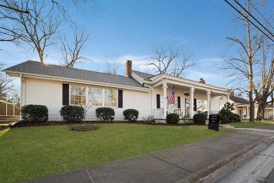 Franklin Single Family Home For Sale: 324 S 3rd Ave
