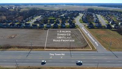 Adams, Clarksville, Springfield, Dover Commercial For Sale: 3 Tiny Town Rd