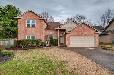 Hermitage Single Family Home For Sale: 506 N Club Ct