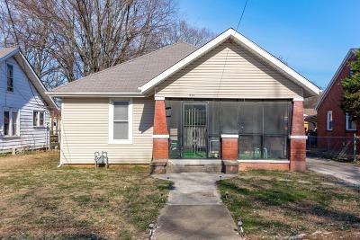 Christian County Single Family Home For Sale: 826 Stanley Street