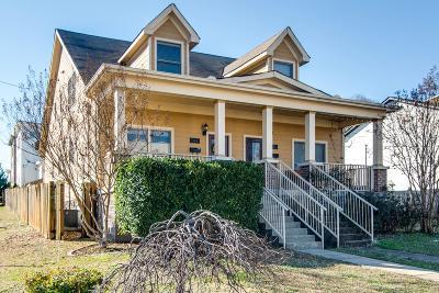 Nashville Single Family Home For Sale: 1801 B 6th Ave N