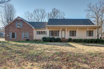 Pleasant View Single Family Home Under Contract - Not Showing: 2538 Jack Teasley Rd