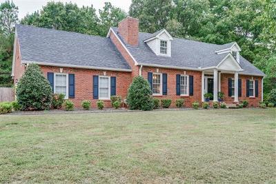 Dickson Single Family Home For Sale: 126 Redbud Dr