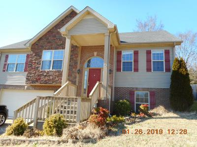 Clarksville Single Family Home Under Contract - Showing: 1836 Patricia Dr