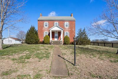 Cunningham Single Family Home Under Contract - Showing: 3248 Marthas Chapel Rd
