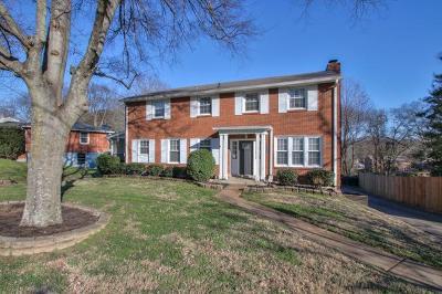 Nashville Single Family Home For Sale: 4812 Shadescrest Dr