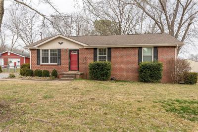 Gallatin Single Family Home Under Contract - Showing: 1494 Ridgewood Ct W