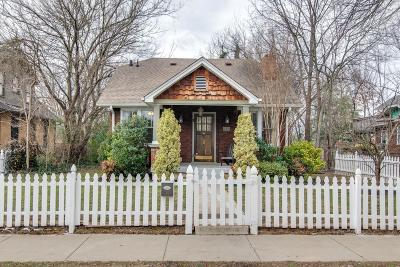 Nashville Single Family Home For Sale: 1707 Russell St